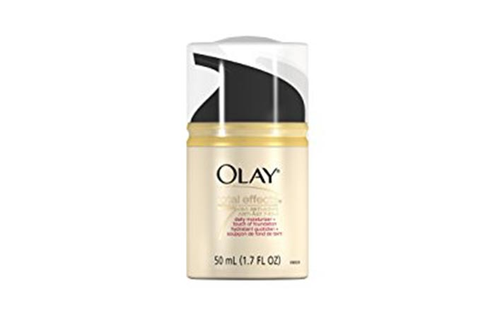13.Olay Total Effects Moisturizer Plus Touch Of Sun