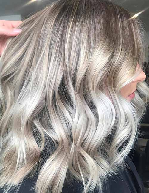 Top 25 light ash blonde highlights hair color ideas for blonde and ash on champagne pmusecretfo Choice Image