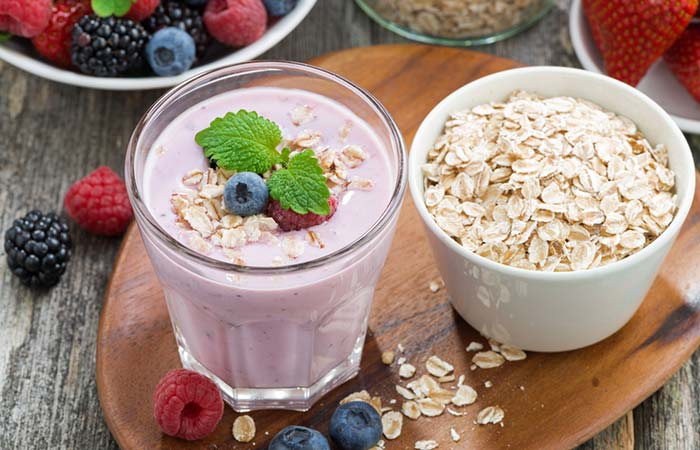 Protein Shakes For Weight Loss - Oats And Berry