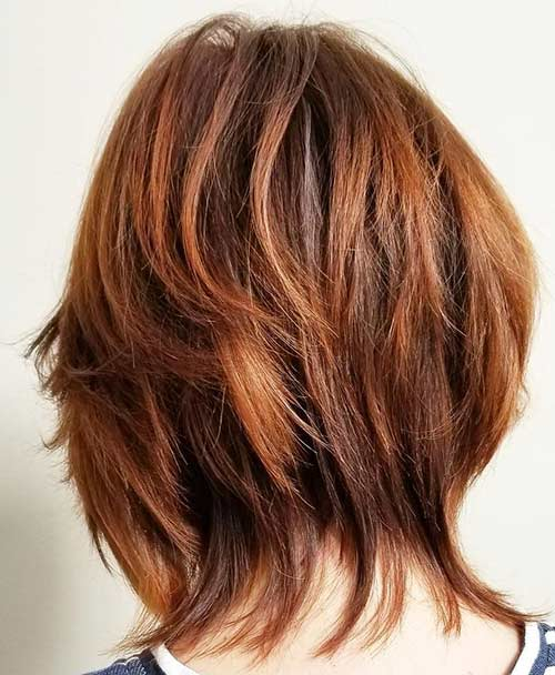 15. Copper And Auburn Blended Highlights