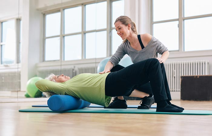 15. Do Foam Roller Exercises