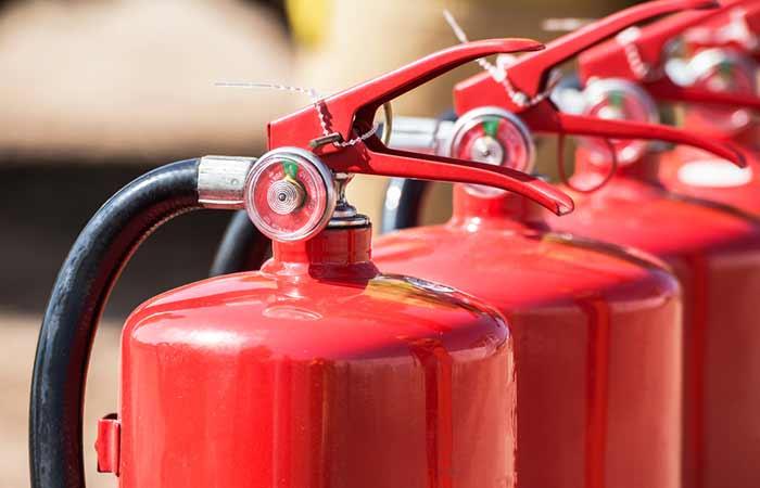 15. Fire Extinguisher 15 Years