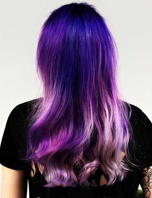 15. Galaxy Lavender Ombre