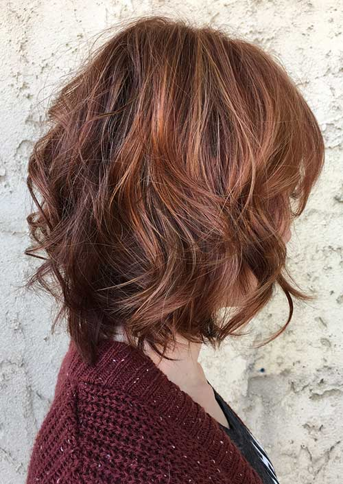 16. Lined With Copper Balayage
