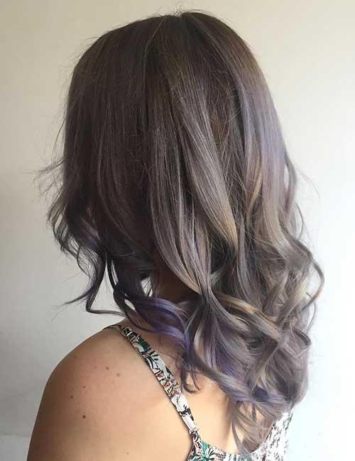 17. Milky Lavender Ombre