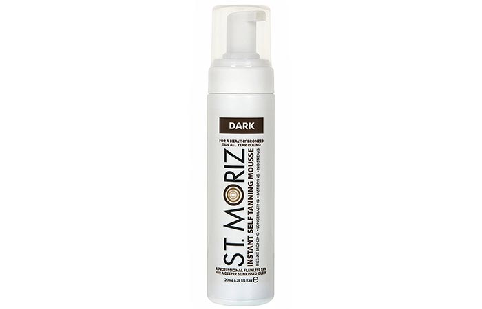 Best Self Tanners For Face - St. Moriz Instant Self-Tanning Mousse