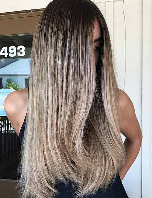 Chai Latte Creamy Blonde Highlights With Cinnamon Lowlights Hair Ideas Pinterest And