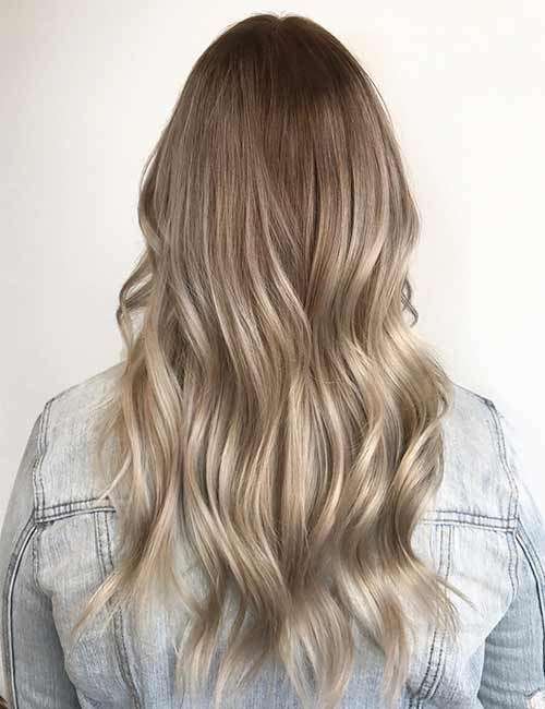 19. Drop Root Blonde