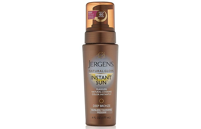 Best Self Tanners For Face - Jergens-Natural Glow Instant Sun Mousse