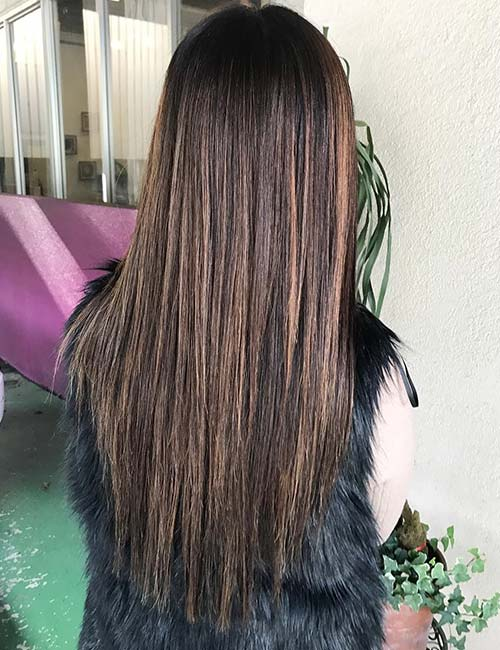 30 best highlight ideas for dark brown hair mocha highlights pmusecretfo Gallery