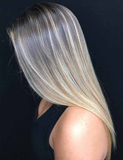 Top 25 light ash blonde highlights hair color ideas for blonde and 2 smooth transition pmusecretfo Choice Image