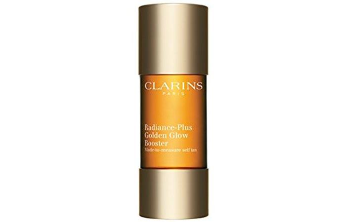 2. Clarins Radiance-Plus Golden Glow Booster
