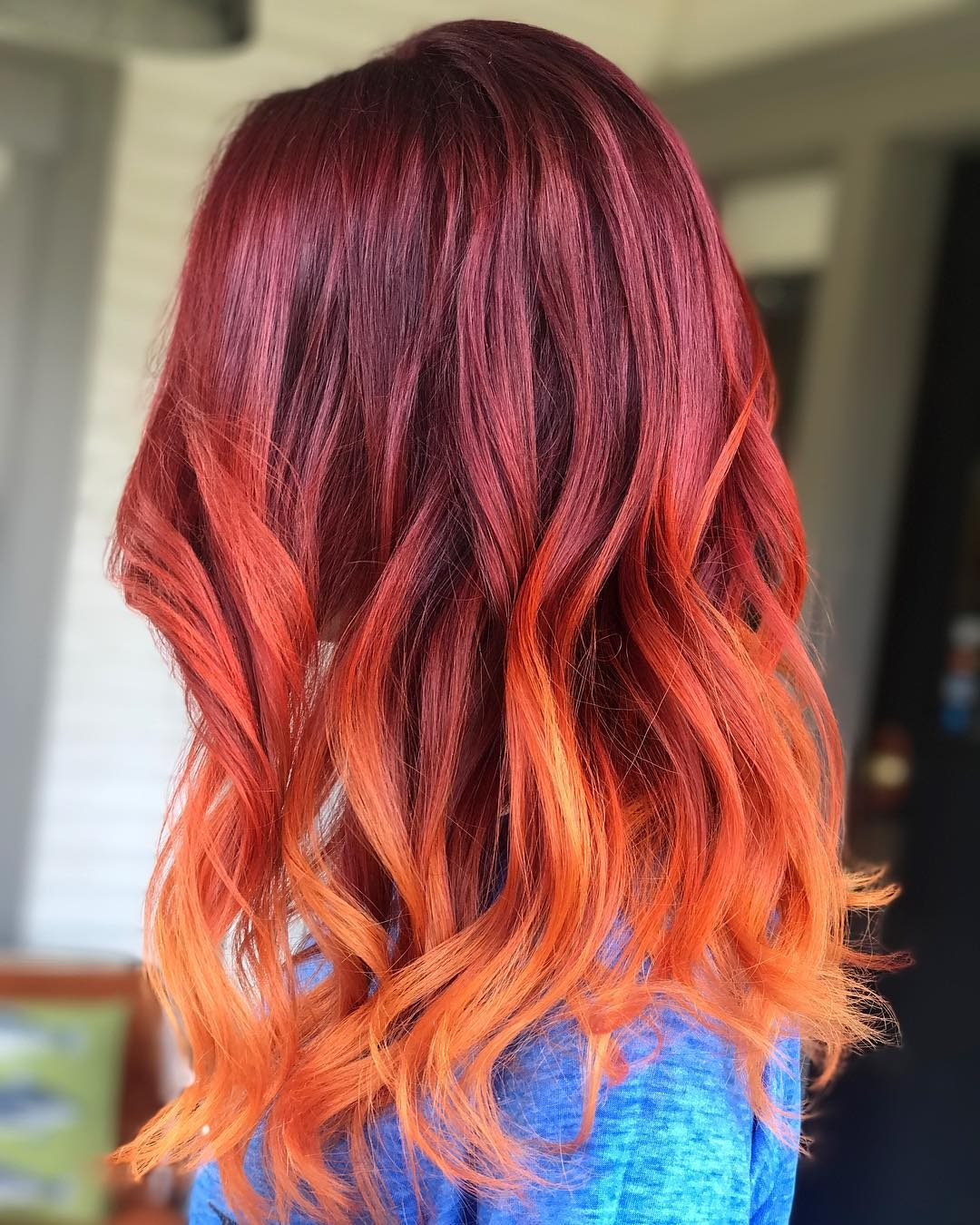 Ombre Hair Red Www Pixshark Com Images Galleries With