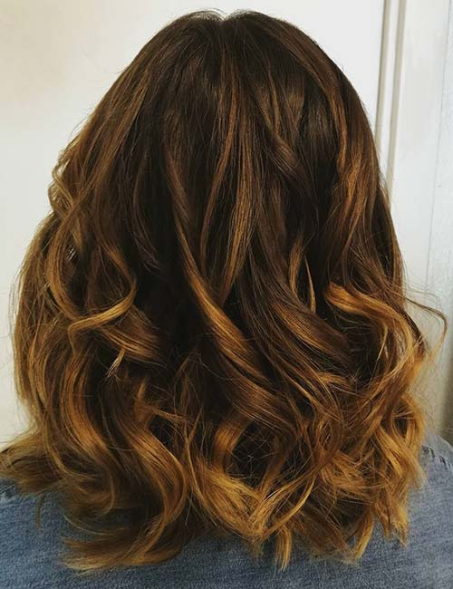 Styling Ideas For Tiger Eye Hair Color
