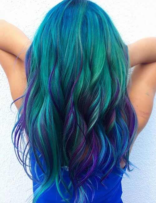 Diy Mermaid Ombre Hair