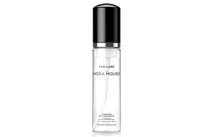 20. Tan-Luxe- Hydra Mousse Hydrating Self-Tan Mousse
