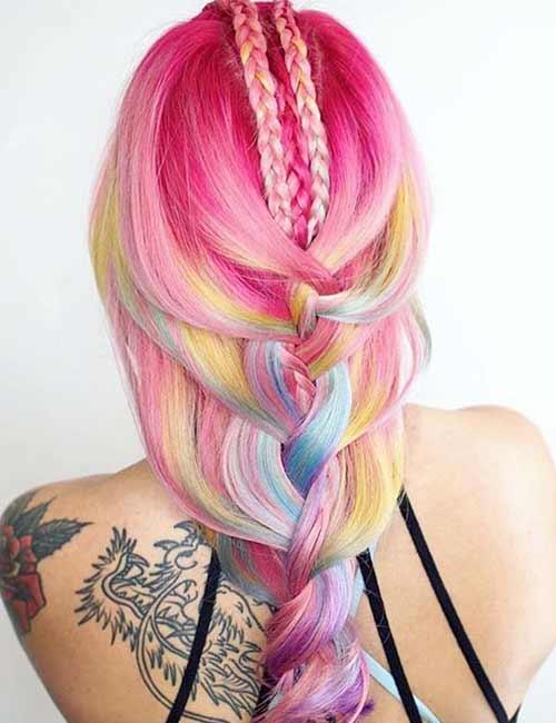 23. Mermaid Fairy Floss