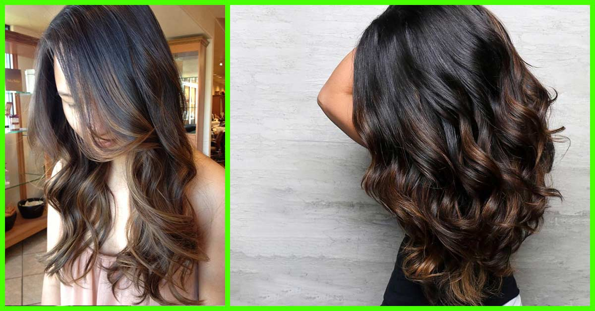 Balayage Black Hair Subtle Www Pixshark Com Images