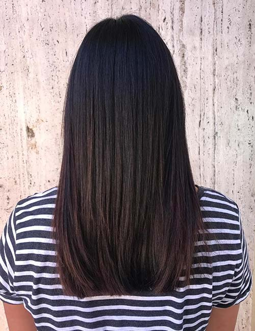 Deep Burgundy Highlights