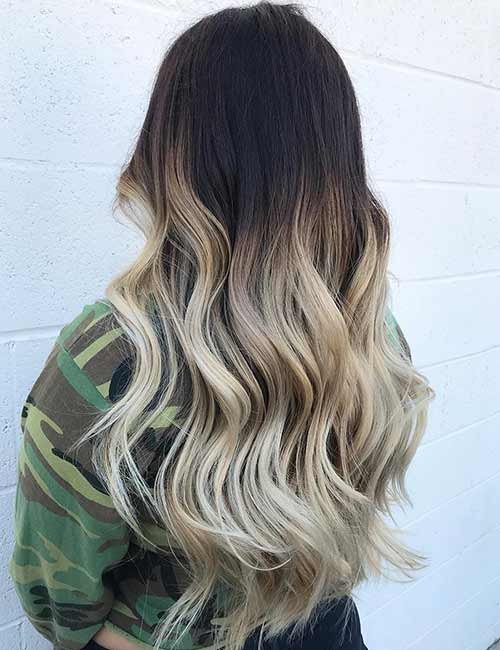 3. Cool Blonde Ombre