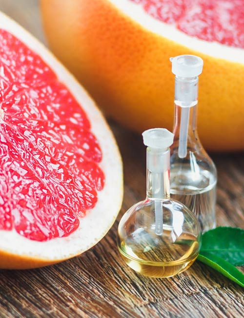 3. Grapefruit Essential Oil