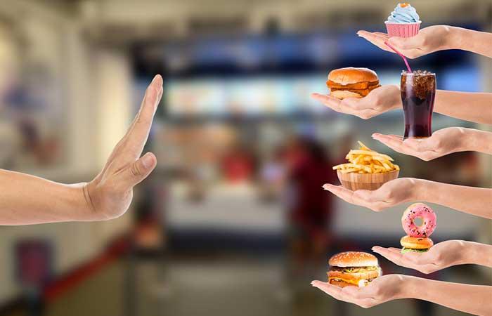 3. No Processed Food