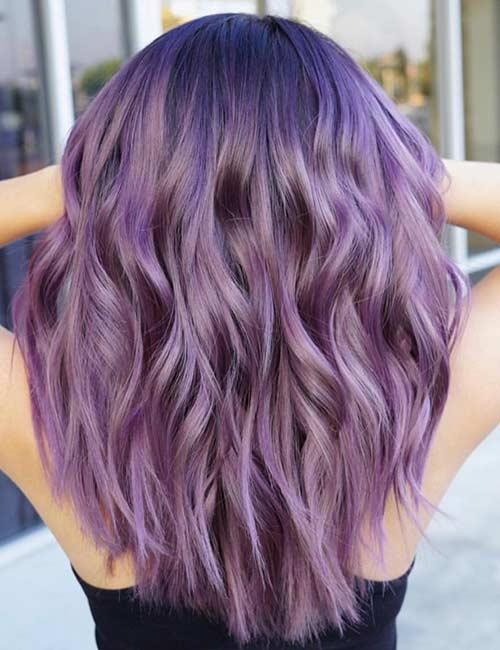 3. Purple Sombre