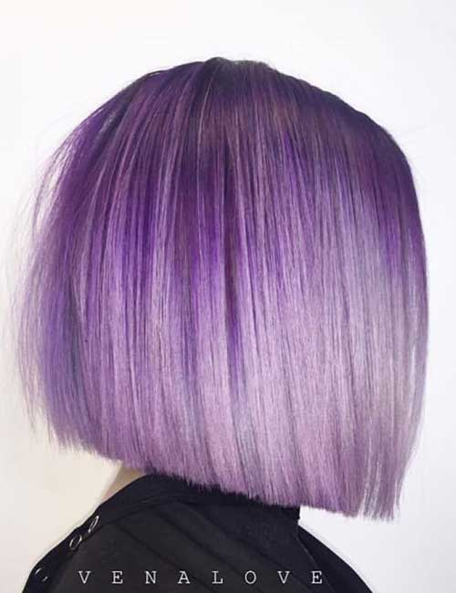 3. Top To Bottom Lavender Ombre