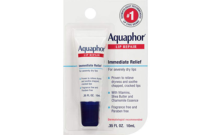 4. Aquaphor Lip Repair