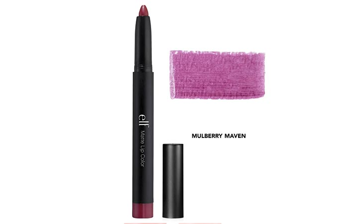 Best Drugstore Matte Lipsticks - 4. e.l.f Matte Lip Color in 'Mulberry Maven'