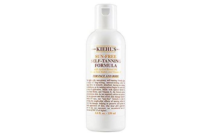 Best Self Tanners For Face - Kiehl's Sun-Free Self-Tanning Formula