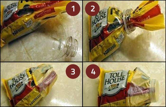4.Resealing A Plastic Bag