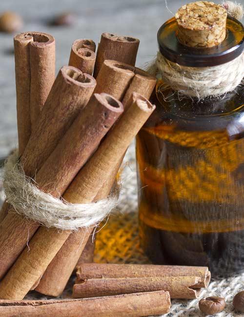 5. Cinnamon Essential Oil