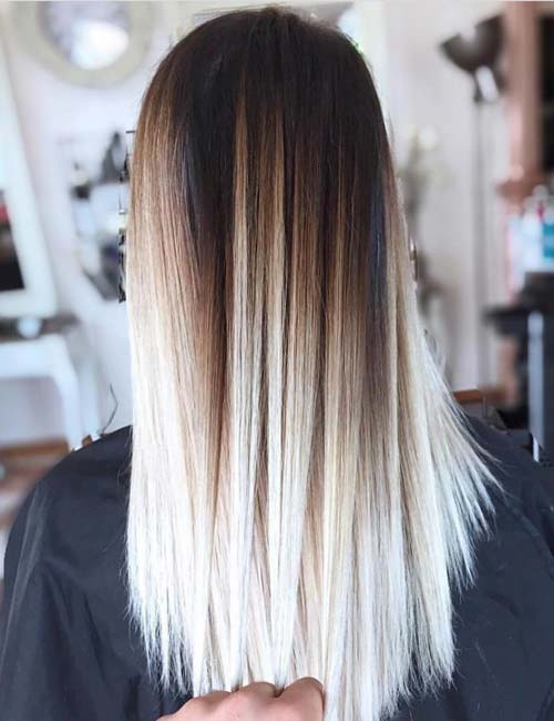 5. High Contrast Balayage