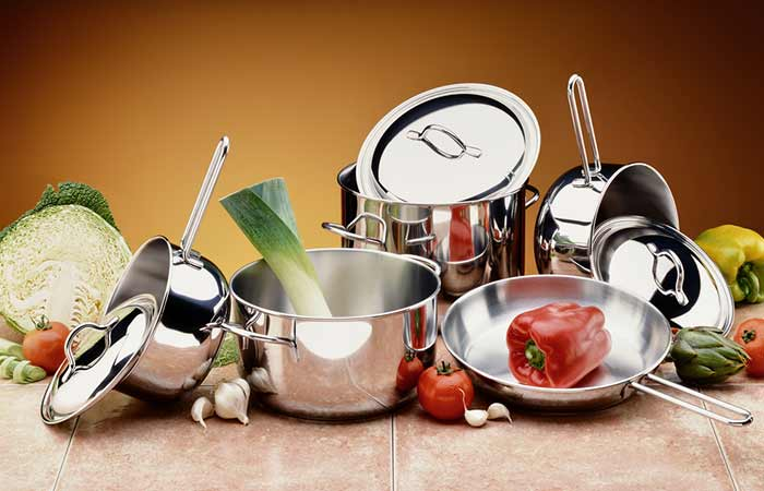 5. Keeping Stainless Steel Kitchenware Shiny, Bright As Well As Stain Free