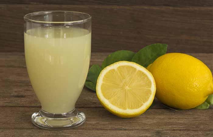 5. Lemon Juice