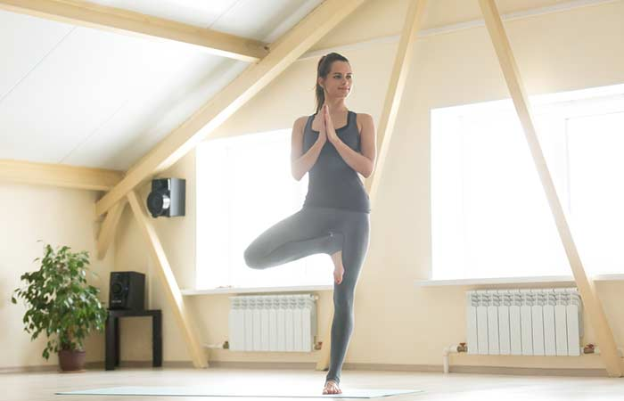 5. Vrikshasana (Tree Pose)