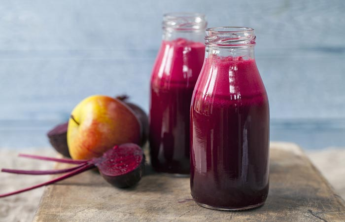 5.Beetroot Juice, The Rosy Pout Superhero