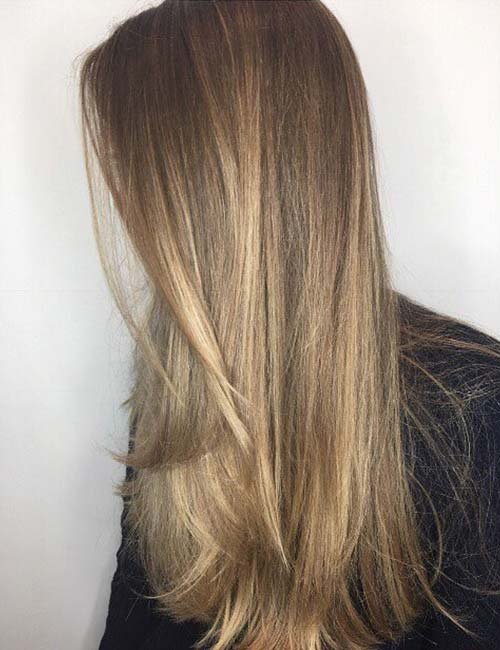 14 Marvelous Balayage Styles For Straight Hair