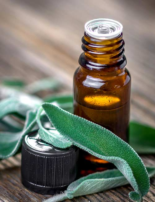 6. Sage Essential Oil