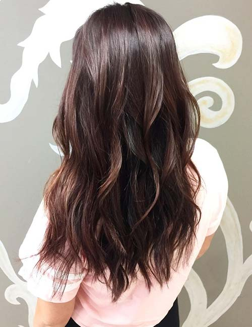 30 Best Highlight Ideas For Dark Brown Hair