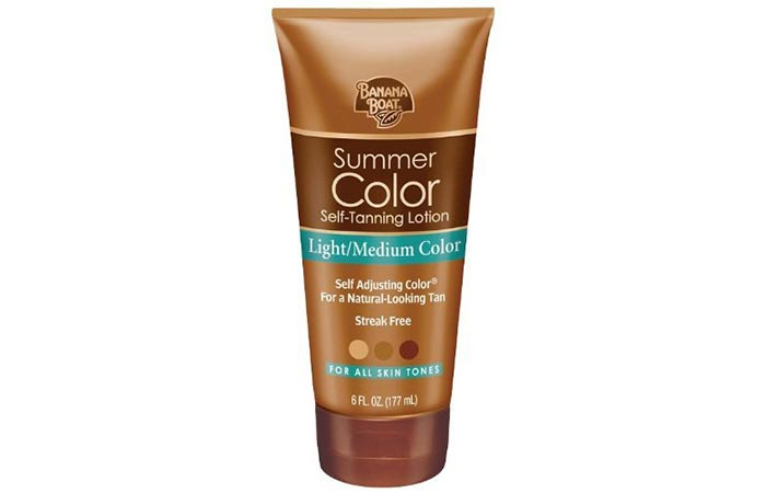 Best Self Tanners For Face - Banana Boat Summer Color Self-Tanning Lotion