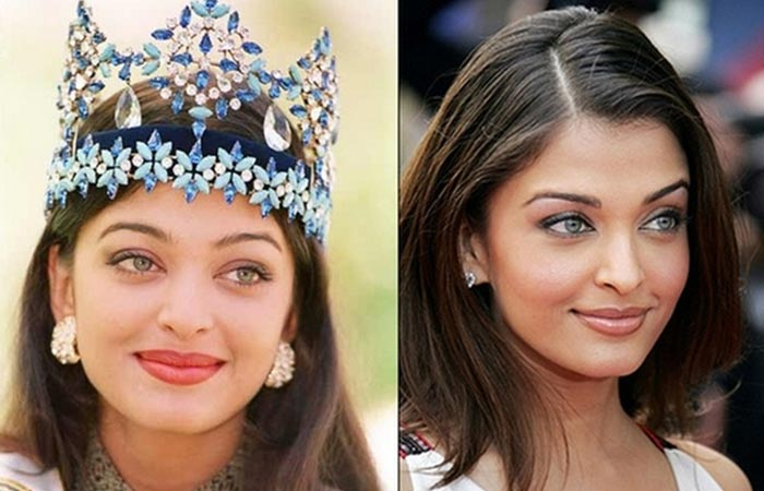 Bollywood Actress Aishwarya Rai Before And After Plastic Surgery