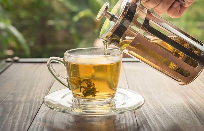 7. Drink Green Tea Or Oolong Tea