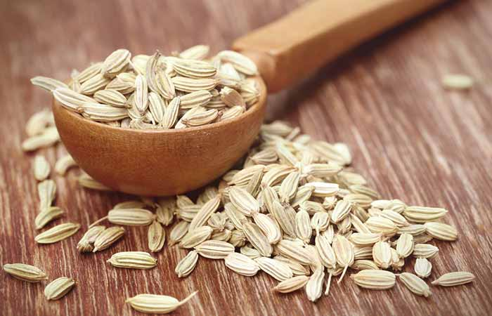 7. Fennel Seeds