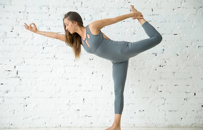 7. Natarajasana (Dancer Pose)
