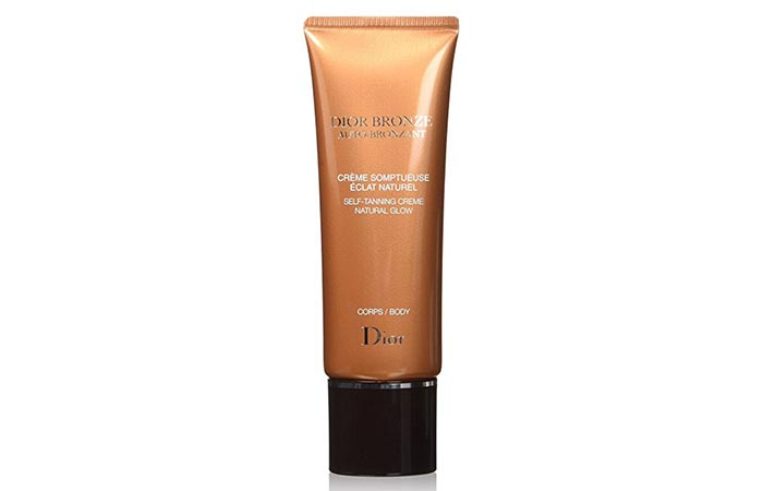 Best Self Tanners For Face - Dior Bronze Self-Tanner Natural Glow Body
