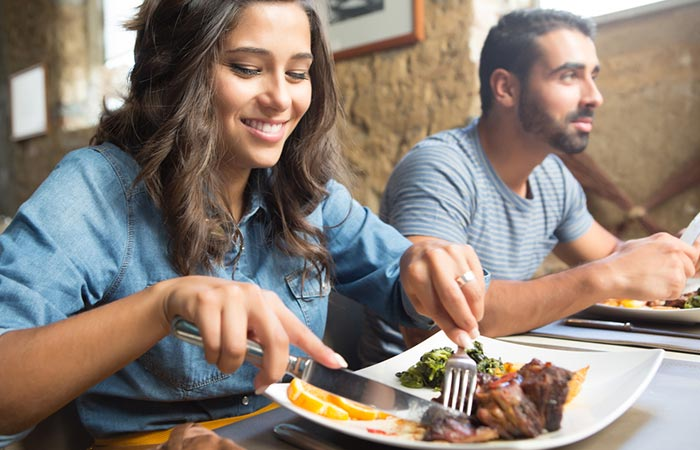 7.Fetch Your Food From The Plate To Your Face, Not Your Face To The Food On Your Plate