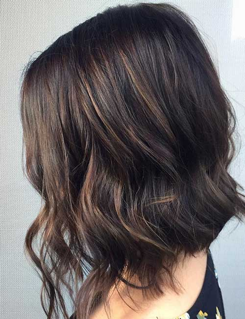 30 best highlight ideas for dark brown hair chilled frappe highlights pmusecretfo Choice Image