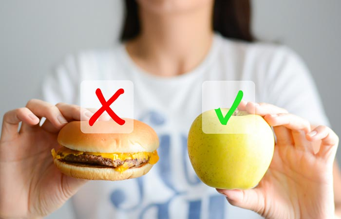9. Avoid Unhealthy Food